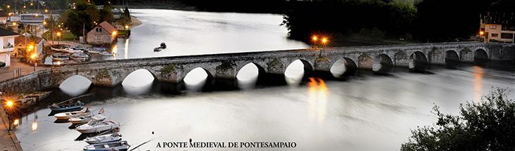 A ponte medieval de Pontesampaio